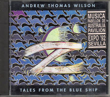 "ANDREW THOMAS WILSON ""TALES FROM THE BLUE SHIP"" RARE CD/ MOOG - JARRE - VANGELIS"