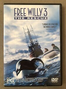 Free Willy 3 DVD (PG Rating)