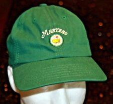 Masters Augusta golf strapback hat cap green New