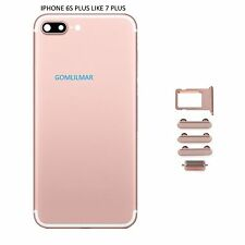 Back Rear Housing Battery for iPhone 6s Plus Replacement to iPhone 7 5.5 roseg
