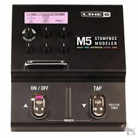 Line 6 M5 Stompbox Modeler Digital Guitar Multi-Effects Distortion Reverb Pedal