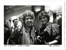photographie signée Guy Le Querrec Linda De Suza par Yvette Troispoux photo 1984