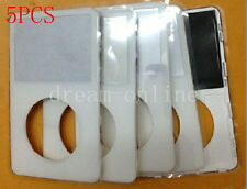 5pcs Front Faceplate Housing Cover for ipod 5th gen video 80GB(White)