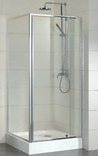 New Shower Screen, 1200x900x1950 6mm Glass Semi-Frameless Corner Shower