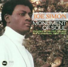 JOE SIMON - MONUMENT OF SOUL (CD 2001) NEW...FAST POST