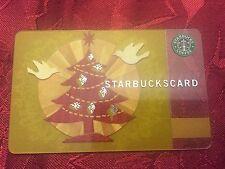 STARBUCKS Gift Card Holiday Glow Christmas 2008 XMAS - FREE SHIPPING