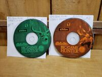 Cabela's Big Game Hunter 5 Disc 1 & 2 for PC 2001 by Activision DISC's ONLY