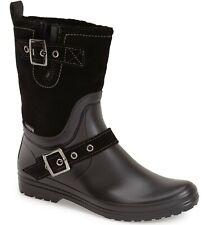 Women's Santana Canada Cayley Rain Boots Suede Size 40 / 10M