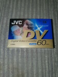 JVC DVM60 Digital Video Mini DV Cassette M-DV60DE, 60 Minutes, NEW