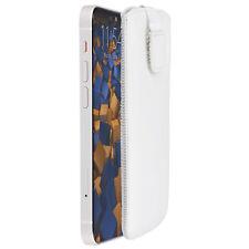 mumbi Leder Tasche für Apple iPhone 12 mini Etui Hülle Case Cover Bumper Schutz