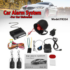 1-Way Car Security Alarm System Central Locking 2 Remote Keyless Entry For Honda