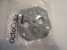Merten 294328   Octocolor Zentralplatte für Antennensteckdosen achatgrau Neu