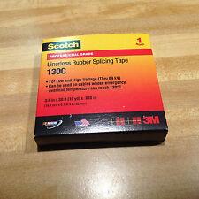 Scotch Linerless Rubber Splicing Tape 130C-3/4 in X 30 ft X .030 in