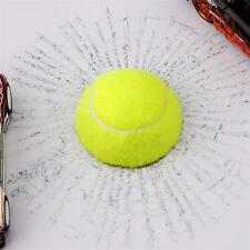 3D Rreal Ball Hits Car Stickers Broken Window Basketball Sticker Decals Crack