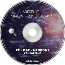 Virtual Magnifying Glass - Screen Magnification Program