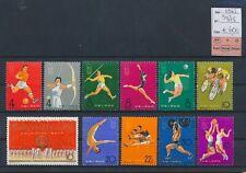 LN59160 China 1965 athletics sports fine lot MNH cv 600 EUR
