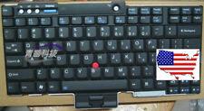 (USA) Original Teclado para IBM Thinkpad R400 T400 R500 W500 T500 T600 EEUU