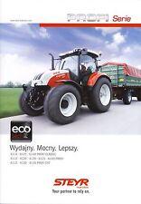 Steyr Profi 02 / 2014 catalogue brochure Traktor tracteur tractor