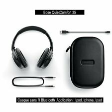 Casque Bose Sans fil - QuietComfort 35  - Noir -