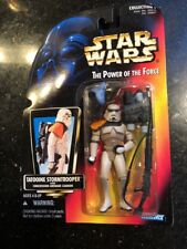 Star Wars Tatooine Stormtrooper Red Card Power of the Force Grenade Cannon New