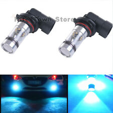 2X 9006 HB4 LED 100W 8000K Ice berg blue Projector Fog Driving Light Bulbs