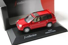 1:43 J-Collection Nissan X-Trail red NEW bei PREMIUM-MODELCARS