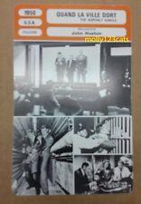 US Fim Noir The Asphalt Jungle John Huston Jean Hagen French Movie Trade Card