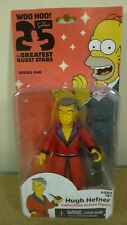 NECA The Simpsons Guest Stars Series 1 Playboy HUGH HEFNER Action Figure BNIB