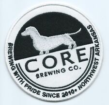 CORE Brewing Co driver patch brewing with pride since 2010 North West AR 3-1/2