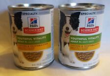 Hill's Science Diet Adult 7+ Youthful Vitality Chicken/Vegetables Stew Canned