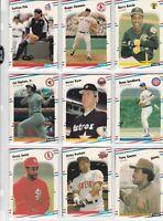 1988 Fleer Baseball Team Sets  Mint Condition Free Shipping  ALL Teams $5.99
