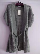 Rockmans Grey Knit Vest Size M NWT