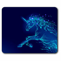 Computer Mouse Mat - Awesome Mythical Magical Unicorn Office Gift #16782