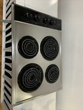 Kenmore Electric Cooktop Stovetop Cook Top Stove Steel Range 4 Burner I