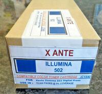 Xante Ilumina 502 Digital Press Cyan OEM Alternative Toner Cartridge.