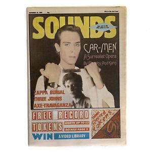 Sounds 10 November 1984 - Dalis Car,Joan Jett,Phil Collins,Frank Zappa