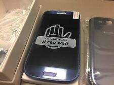INBOX NEW SAMSUNG GALAXY S3 SGH-T999 Blue T-MOBILE GSM Unlocked. OEM EXTRAS
