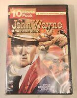 John Wayne: American Hero (DVD, 2 Disc set 10 Movies) NEW