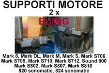 ★SUPPORTI MOTORE 2 x CINE PROIETTORE EUMIG (Mark S, Mark S 706, Mark S 802 ecc)★