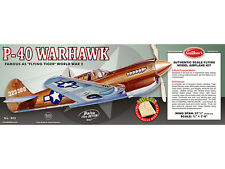 Model Airplane Kit WW II Curtis P-40 Warhawk Guillow's GUI-405LC