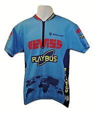 Bianchi Gewiss Playbus Rapid Sport XL Cyclist Bicycle Riding Shirt Jersey Sz XL