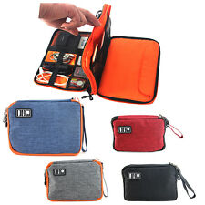 Universal Double-layer Travel Cable Organizer Electronics Accessories Cases M, L