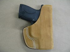 Ruger Lc9, Lc9s, Lc380 Inside the Pocket Leather Concealment Holster Ccw Itp