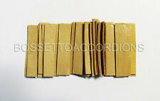 Accordion REED LEATHER LEATHERS VALVES SET OF 36 Size 6 Ventile für Akkordeons