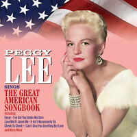 PEGGY LEE - SINGS THE GREAT AMERICAN SONGBOOK - 2 CDS - NEW!!