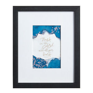 Wood Framed Scripture Art