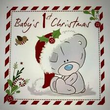 Tatty Teddy Christmas Card - Baby's First Christmas...x92vn003