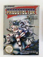 NINTENDO NES PROBOTECTOR ORIGINAL PAL B Version KONAMI w/Original Box LIKE NEW