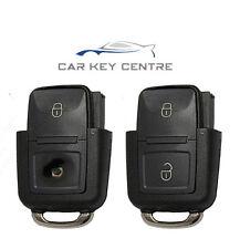 Repair For VW Volkswagen Seat Skoda Remote Car Key fob New Case 2 Button