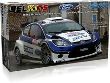 BELKITS 1:24 KIT AUTO FORD FIESTA S2000 2010 RALLY MONTE CARLO WINNER   BEL-002